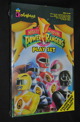 1993 Colorforms Mighty Morphin Power Rangers Play Set Sealed Unopened Box