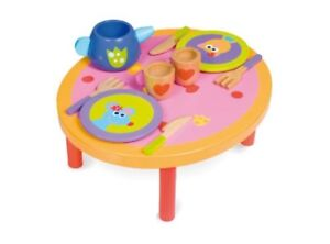 Dinner-Table-Wooden-Pretend-Play-Tea-Party-Set-kids