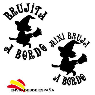 Vinilo adhesivo BRUJA 04 pegatina decal vinyl sticker aufkleber WITCH 04
