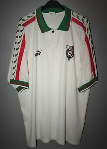 d5339380b Image is loading BULGARIA-NATIONAL-TEAM-1996-1997-HOME-FOOTBALL-SHIRT-