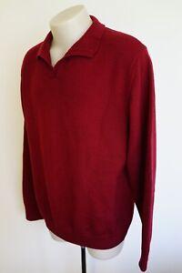 rodd-amp-gunn-red-merino-wool-jumper-size-xl-vgc