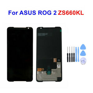 Original For ASUS ROG Phone 2 ZS660KL LCD Display Touch Screen Digitizer