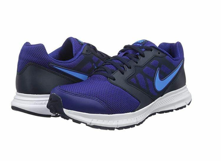 Nike Mens Downshifter 6 Sneakers 684652 417 Deep Royal bluee bluee Glow Size 7.5
