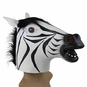 Funny-Zebra-Latex-Head-Mask-Cosplay-Theater-Props-Costume-Animal-Halloween-Party
