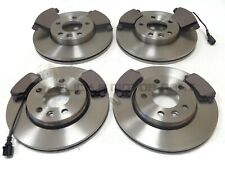 VW TRANSPORTER T5 1.9 TDi 2.5 2003-2010 FRONT & REAR BRAKE DISCS AND PADS NEW