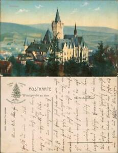 Ansichtskarte Wernigerode Schloss/Feudalmuseum 1920