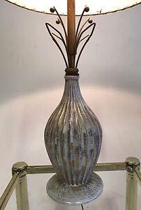 Vintage-Atomic-Sputnik-Ceramic-Brass-Danish-Mid-Century-Modern-Table-Desk-Lamp