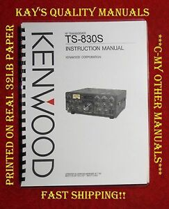 High-Quality-Kenwood-TS-830S-Instruction-Manual-C-MY-OTHER-MANUALS