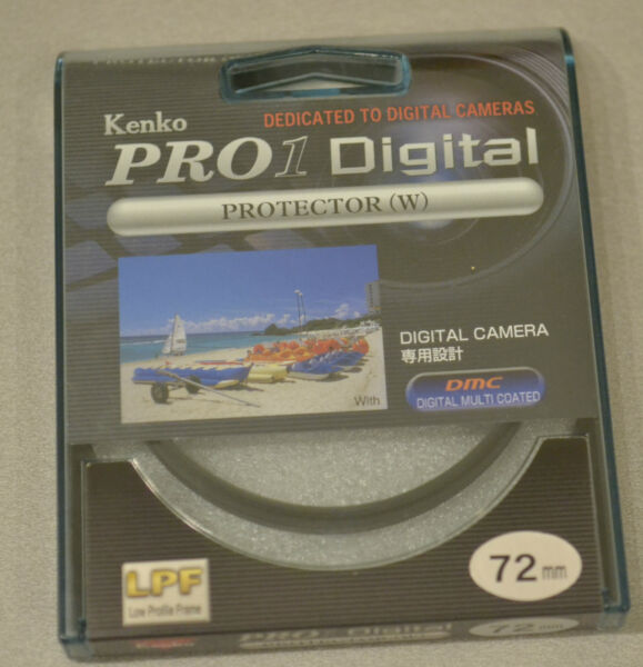 (prl) Kenko Filtro Filtre Filter Filtar Filtru 72 Mm Protector W Pro 1 Digital