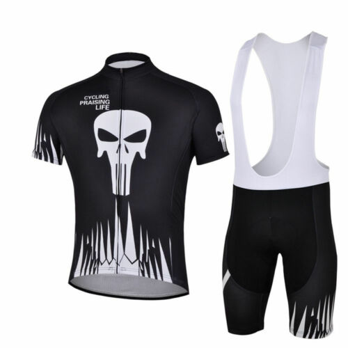 Men/'s Cycling Suit Long Sleeve Cycle Jersey and Padded Bicycle Pants Kit S-5XL