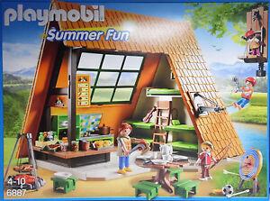 Playmobil 6887 Grande cuisine de camp de vacances Imbis Coin nuit Barbecue Barbecue Nouveau