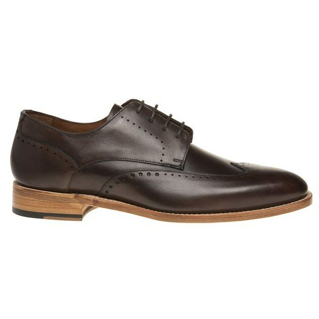 New  Uomo SOLE Braun Granby Leder Schuhes Brogue Brogue Brogue Lace Up 1b9232