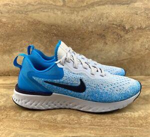 44221ea78399 Nike Odyssey React Women s Running Shoes Grey Blue Void Blue Hero