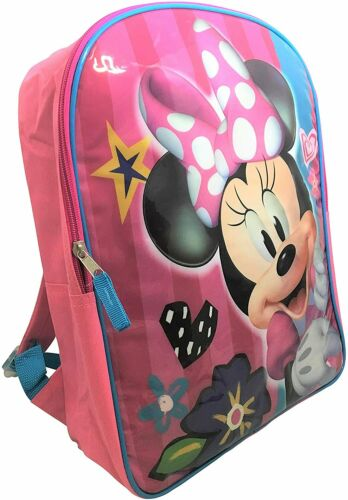 Details about  /Disney Minnie Mouse Backpack 15 Inches