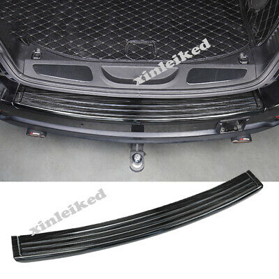 For Jeep Cherokee 2018-2019 Rear Outer Bumper Protector Sill plate cover Trim