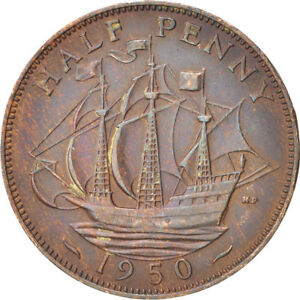 HALF-PENNY-OF-GEORGE-VI-YOU-CAN-CHOOSE-YOUR-DATE-1938-1952-ONE-COIN-BUY-034