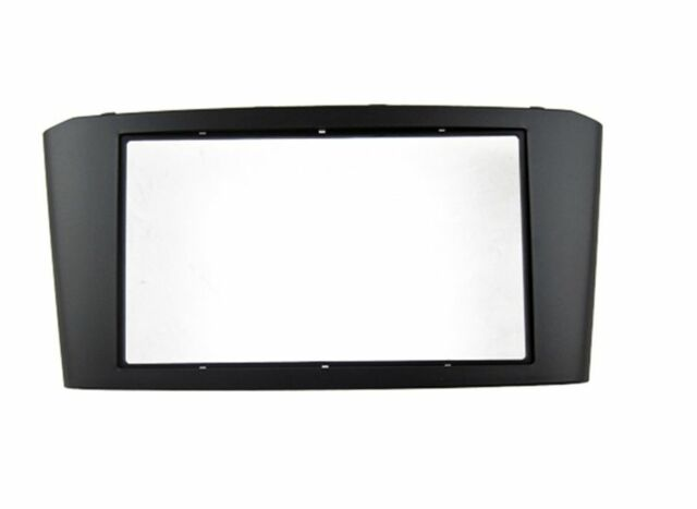 Car DVD Radio Stereo Trim Panel Fascia Frame Kit for Toyota AVENSIS ...