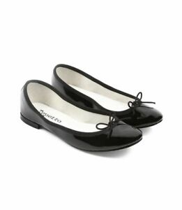 76667c17a8f Details about NIB Repetto Cendrillon Black Patent Leather Ballet Flats  Shoes 38.5