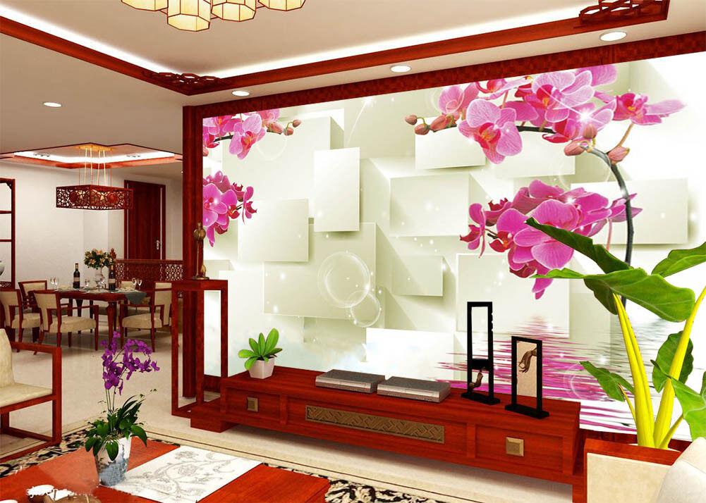 Warm Blooming Flower 3D Full Wall Mural Photo Wallpaper Printing Home Kids Decor