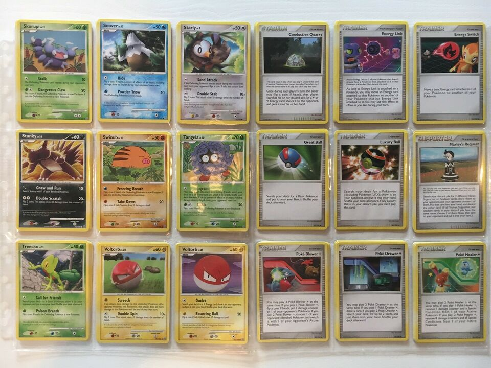 Samlekort, Sjældne Pokémon Kort - D&P: Stormfront