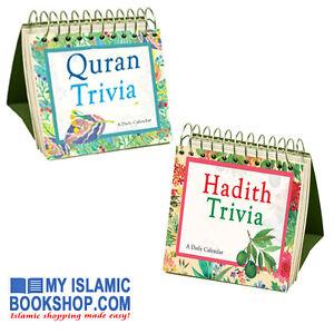 QURAN-HADITH-TRIVIA-DAILY-CALENDAR-365-DAYS-ISLAMIC-MUSLIM-HOME-OFFICE-GIFT
