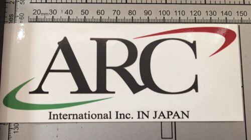 ARC International Inc Japan Racing Car Wall Decal Full Colour Sticker