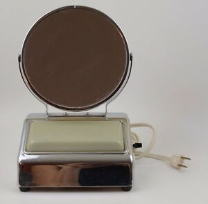 1950 S Lighted Acme Make Up Mirror With Power Outlet Ebay