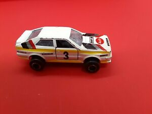 Vintage-80-039-s-Majorette-221-Audi-Quattro-with-opening-doors-Made-in-France