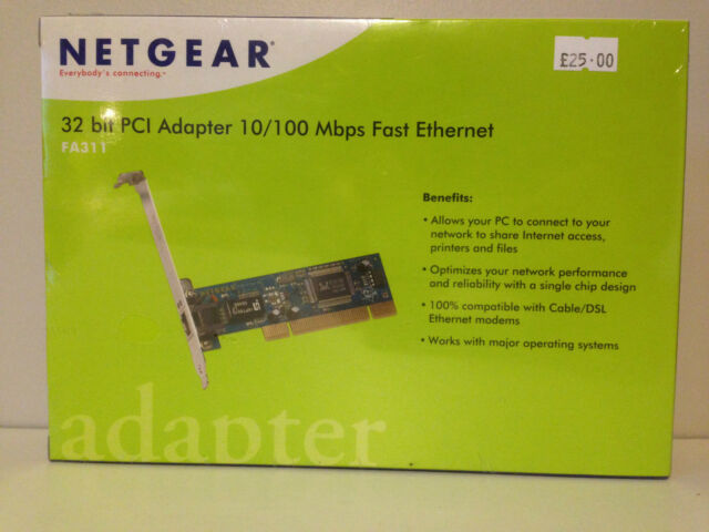 NETGEAR FA311v2 PCI Adapter Realtek Driver PC