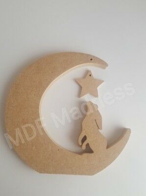 WOODEN ROBIN MDF CRAFT SHAPE 18MM FREE STANDING
