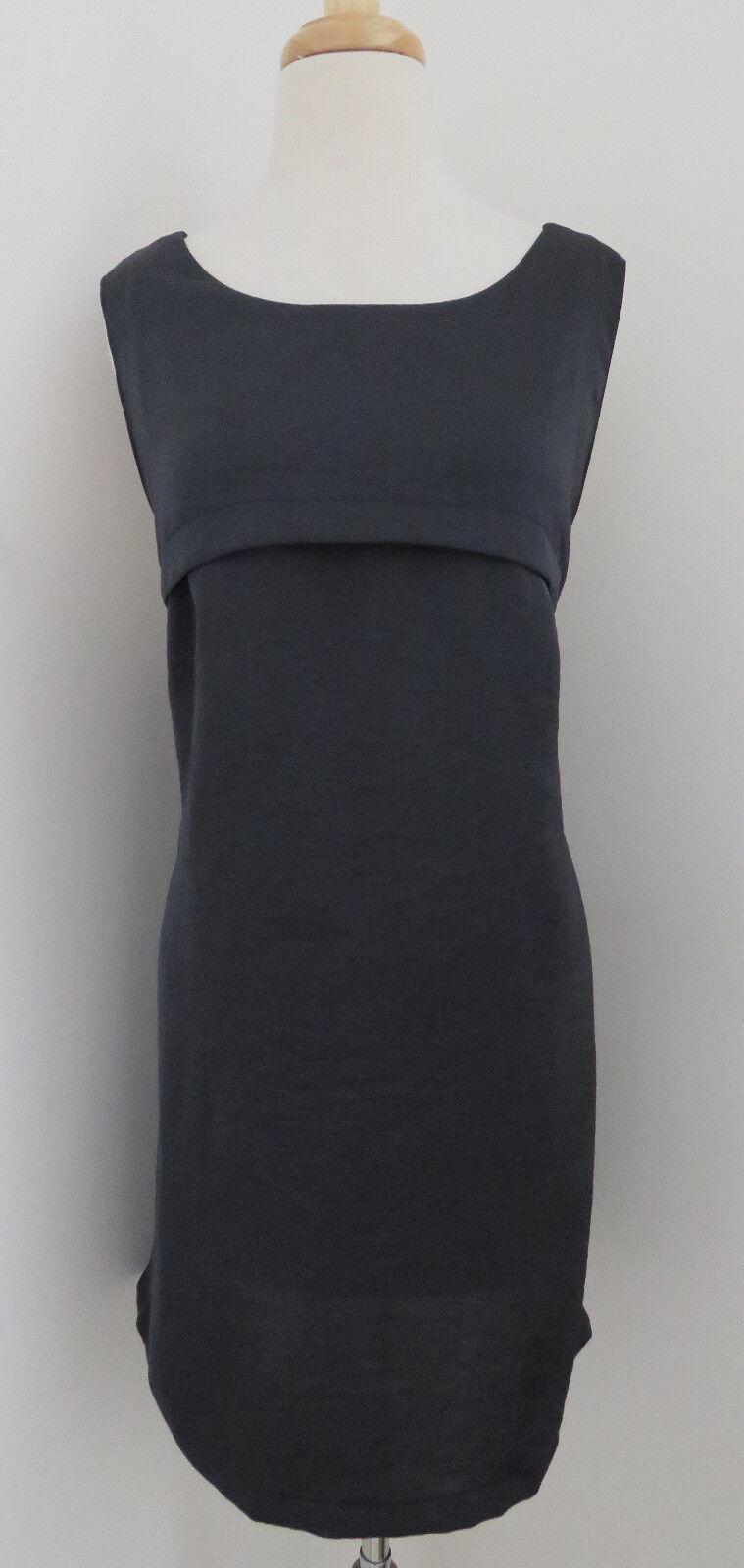 SURFACE TO AIR Draped back shift dress sz 3 M L