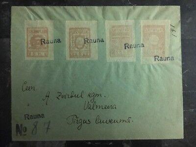 Europa 1918 Rauna Zu Walmecra Lettland Registrierte Zu Lettland Keine Kostenlosen Kosten Zu Irgendeinem Preis