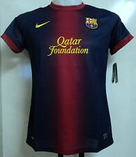 BARCELONA LADIES 2012/13 HOME SHIRT BY NIKE SIZE XL BRAND NEW WITH TAGS