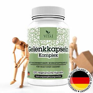 120-Gelenkkapseln-Arhtrose-Knorpel-MSM-Chondroitin-Glucosamin-Zink-Vitamin-C