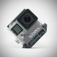 ROGETI Slopes Black instant stand for GoPro in housing
