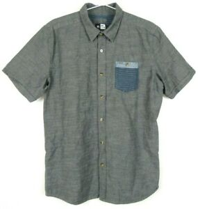 Rip-Curl-Mens-Shirt-Size-XL-Short-Sleeve-Button-Front