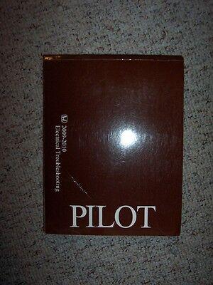 2009-2010 Honda Pilot Electrical Wiring Diagram Manual LX ...