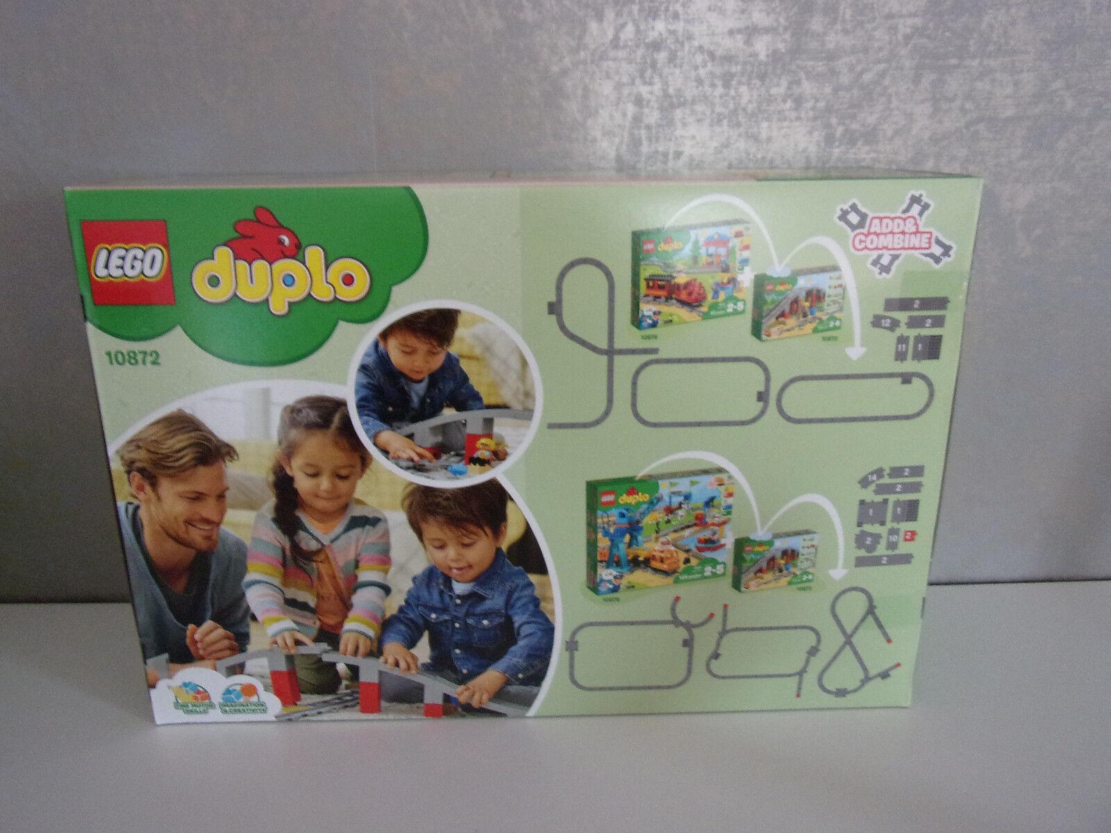 Lego Duplo 10872 10872 10872 Pont et Rails - Neuf et Emballage D'Origine | De Haute Qualité  4b9e08