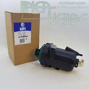 FILTRO-GASOLIO-COMPLETO-UFI-5514500-PER-51779083-FIAT-MULTIPLA-1-9-JTD-120-HP