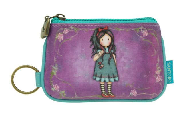 30153a64ae7 Gorjuss by Santoro - Pulling On Your Heart Strings Key Ring Zip Purse