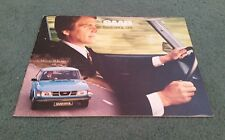 1978 1977 SAAB 99 GL L 1978 Model Year UK BROCHURE Saab Export Agents W8 Stamp