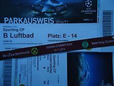 VIP TICKET Band & Parking UEFA CL 2016/17 Borussia Dortmund - Sporting CP (3)