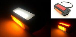2x Gelb LED Umrissleuchte  Begrenzungsleuchte Anhänger LKW 12V 24V 110x54x16 SET