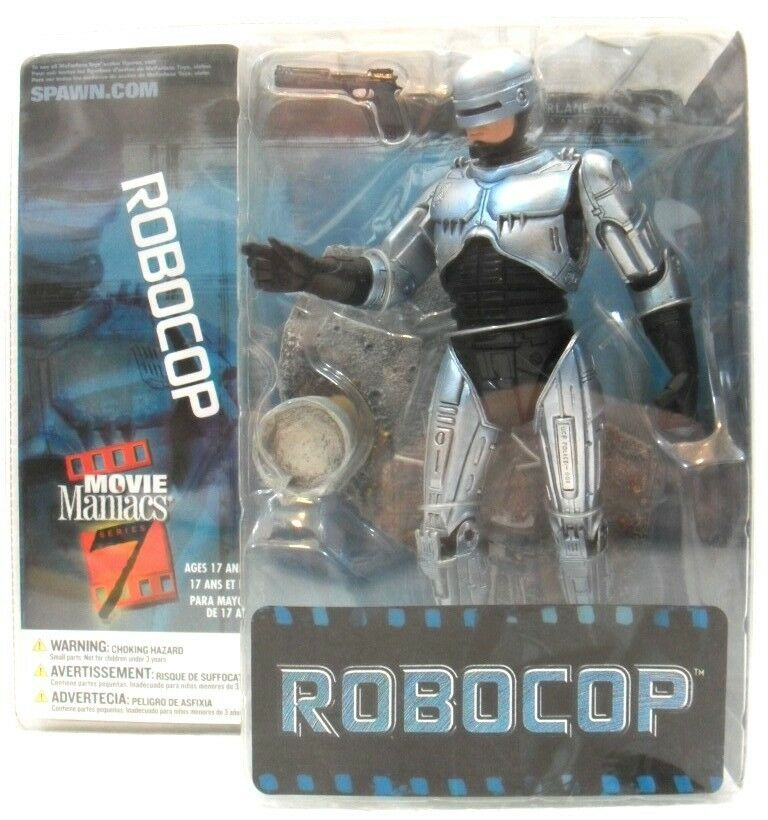 ROBOCOP movie maniacs serie 7 SPAWN McFARLANE anno 2004 cm. 18