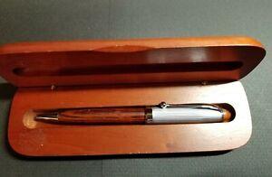 Cherry wooden twist pen
