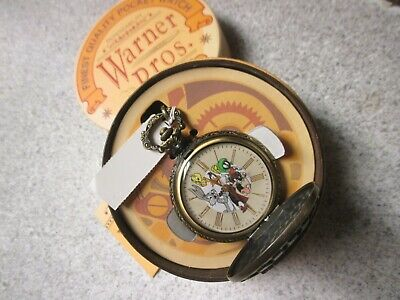 Collection New Unworn $69 Pinky And The Brain Pocket Watch Fossil Warner Bros