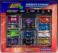 Johnny Lightning 10 Pack Muscle Cars Usa 1995 In Box