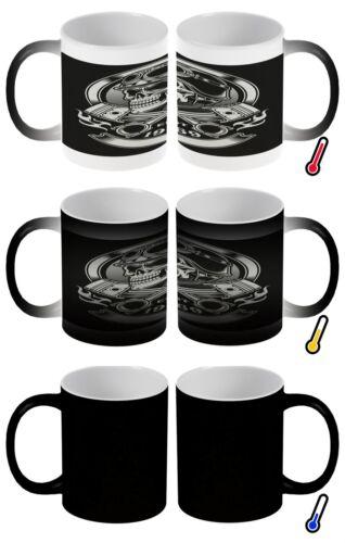 Zauber Magig Tasse Werkstatt Motiv Totenkopf Kolben