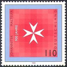 Germany 1999 Order of St John/Health/Welfare/St John's Cross 1v (n29755)