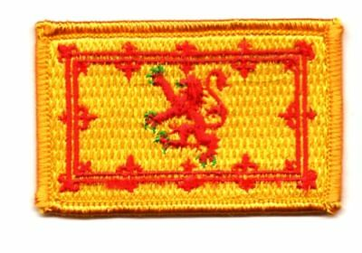 Patch Ecusson Brode Drapeau Ecosse Royal Imperial Insigne Thermocollant Flag Ruime Levering En Snelle Levering